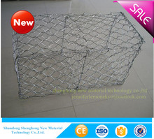 shandong Factory Supply Welded Hot Dipped Galvanized Wire Mesh Gabion Box