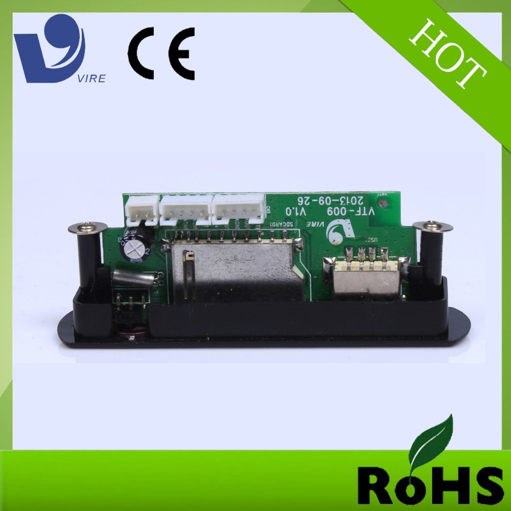custom usb sd fm audio transmitter module for mp3