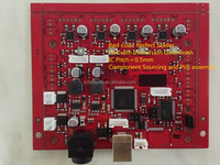Heat meter PCB / PCBA/High Quality pcb assembly,Rigid FR4 PCB Electronic SMT PCBA