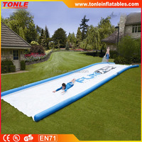 Giant 50' Long Inflatable Slip and Slide, SUPER SWEET Inflatable Water Slide for lawns