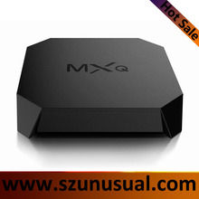 Factory price best smart tv box firmware 2016 mxq pro s905 amlogic 4k