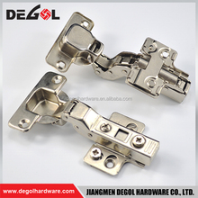 Durable hydraulic stainless steel furniture hinge for cabinet