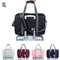 Travel Lightweight Waterproof Foldable Storage Carry Luggage Duffle Tote Bag, OEM customized