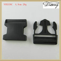 Luggage securely double adjustable plastic buckle for luggage