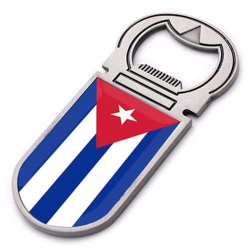 New custom Zinc Alloy souvenir Cuba fridge magnet