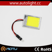 COB Chip LED Car Interior Light T10 Festoon Dome Adapter Car Vehicle LED Panel/festoon bulb for car