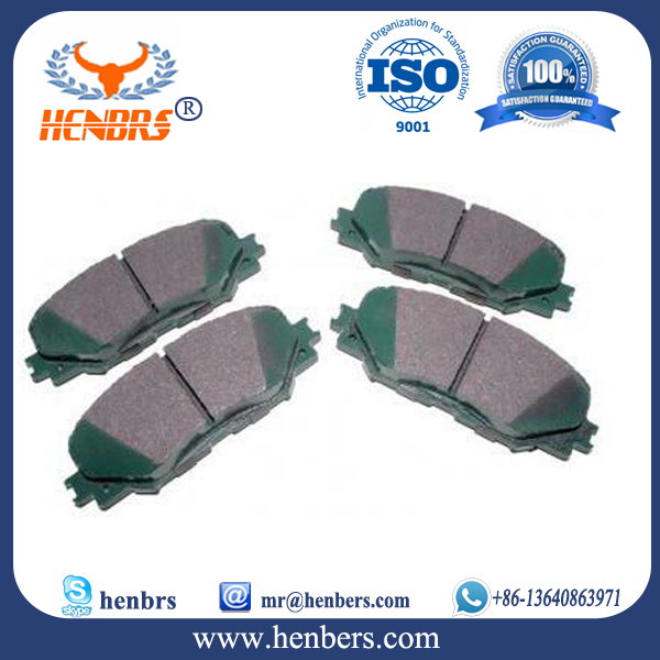 High quality Auto car parts german 0446652130 brake pads for innova toyota parts
