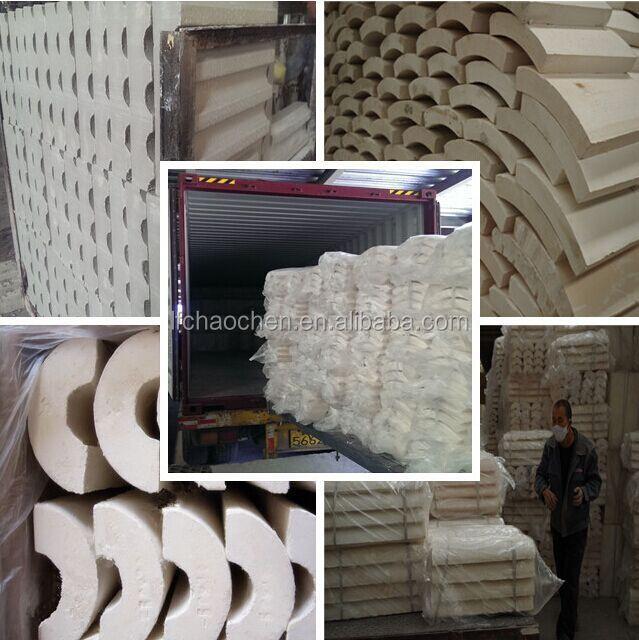 Calcium Silicate Blocks : Non asbestos micropore calcium silicate pipe block