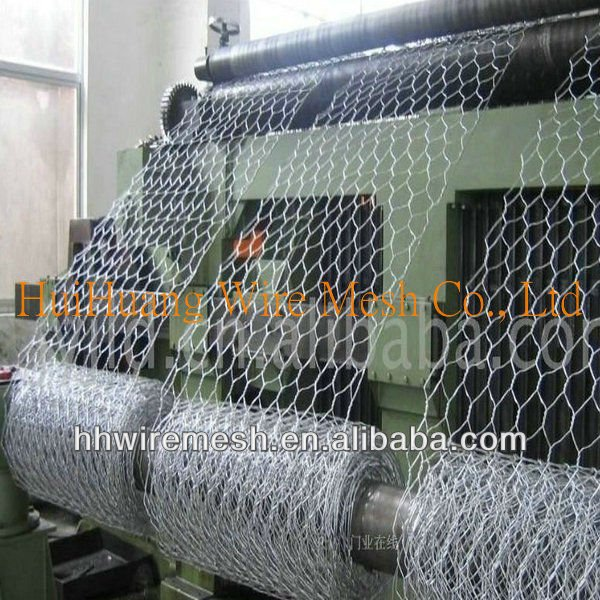 Galvanized wire PVC coated hexagonal wire mesh from anping ying hang yuan metal