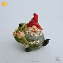 Low Price Indoor Mini Cheap Unique Polyresin Craft Custom Wholesale Garden Gnome