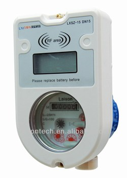 Stepped Tariff Wet Type Prepaid Water Meter(LXSIC-20)