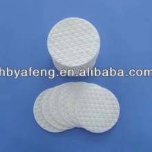 round cotton make up pads