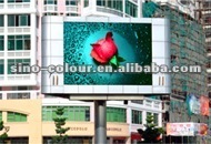 P20 Electronic outdoor LED display for outdoor advertising