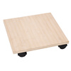 Promotional Wooden Plant Transport Trolley With