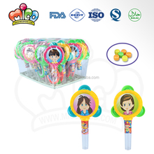 Plastic Baby Tambourine Toy Candy For Kids