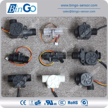 Hall element electronic water flowmeter magnetic flow sensor water flow sensor