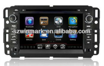 7inch in-dash HD special Car Multimedia system for Buick Enclave