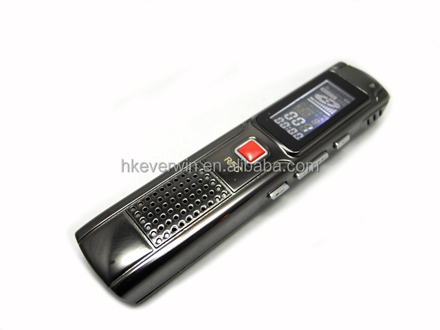 350 Hours continous recording and 100 metres wireless long distance hot wireless spy digital voice recorder