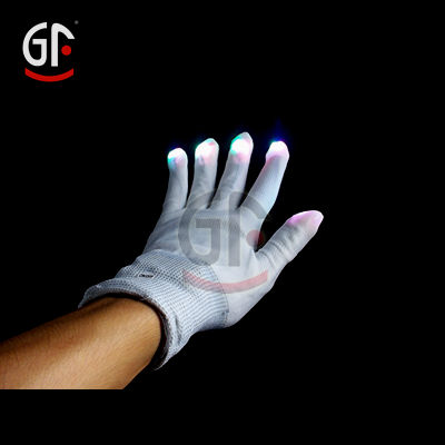 Chinese Novel Products Wholesale Fingerless Rubber Coated Cotton Glove