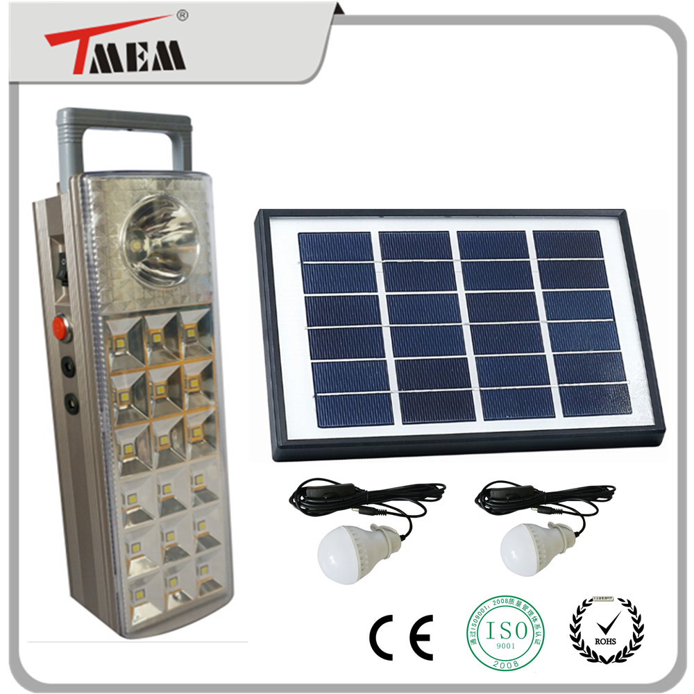 2016 new style 5W solar panel 4Ah battery 3W led bulb solar light system for home use