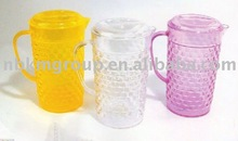 crystal multicoloured pitcher
