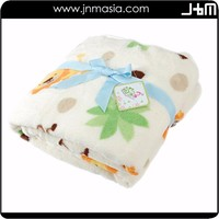 Factory manufacture various portable baby fleece blanket