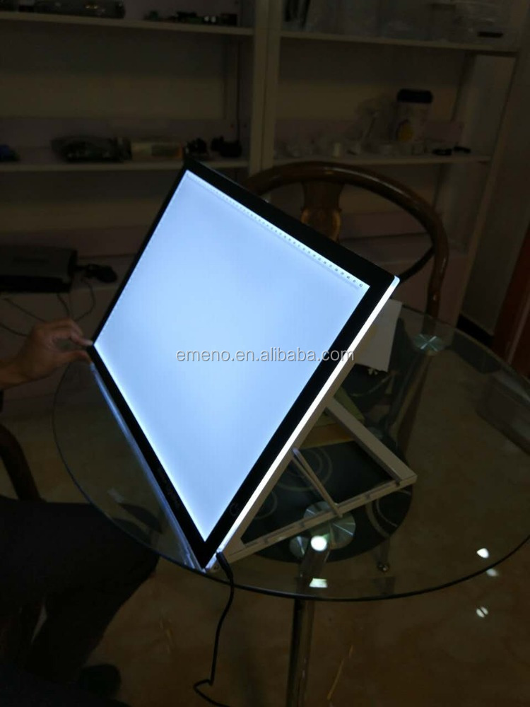 2017 electronic led tracing board led light pad A4 size for kids
