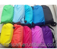 lay bag light kit inflatable air lounge sofa, inflatable air sleeping bags, laybag with led light