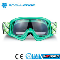 UV400 protected kids motor bikes helmet t-rex motocross eyewear for racing