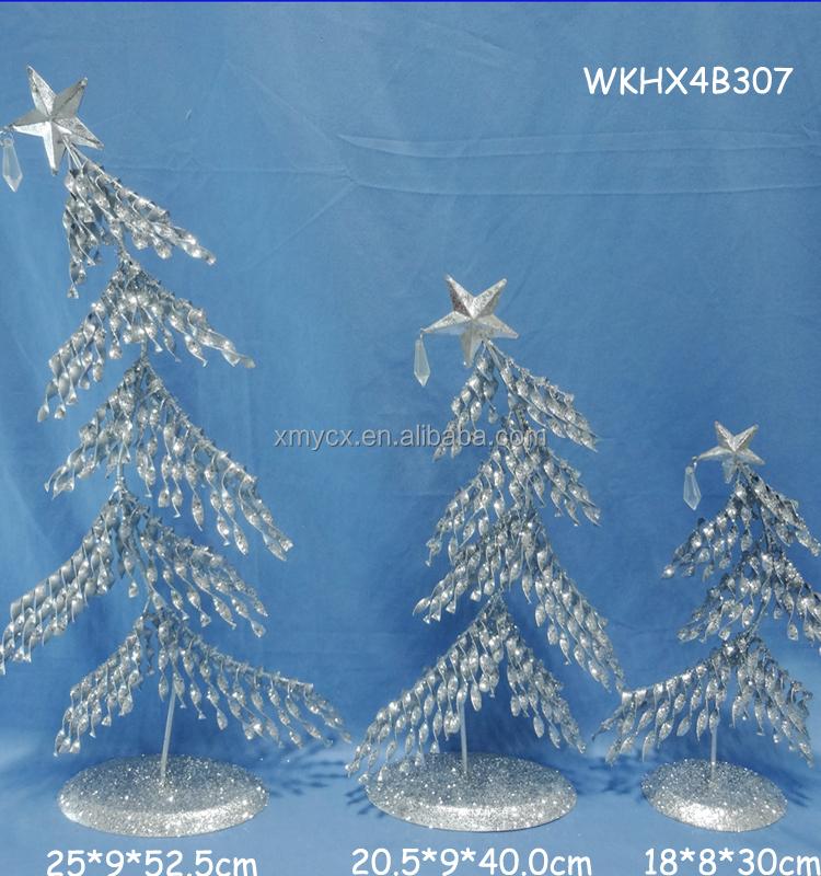 Bendable Outdoor Tabletop Metal Christmas Tree - Buy Tabletop Metal ...