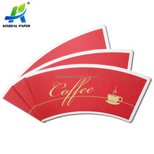 Wooden pulp single PE coated paper cup blank for paper cup