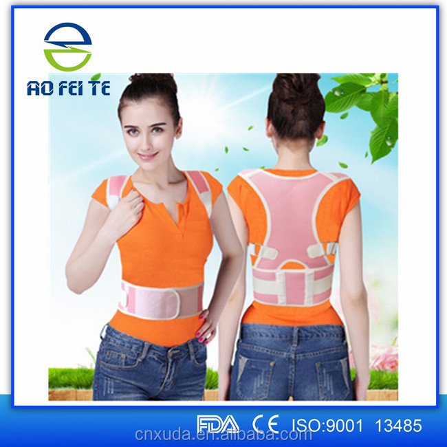 Aofeite Magnetic Posture Back Shoulder Corrector Support Brace Belt