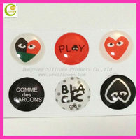 New arrival hear pattern home button sticker for iphone 4 ,for iphone 5 home button sticker