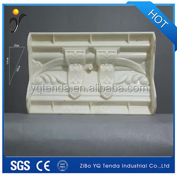 Unbreakable plastic coving cornice moulding