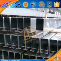 high quality aluminum extrusion 6063 t5 weight of aluminum section in construction, window/door/wall profile aluminum section