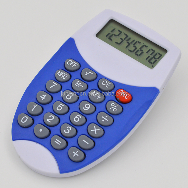 electronic mini calculator promotion gift portable calculator with Lanyard