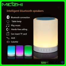 LED color changing Table colorful Lamp Smart Bluetooth Speaker