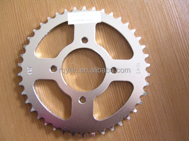GN125 Chain Sprocket for Motorcycle with China Supplier