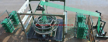 Mesh bag knitting machine / circular loom