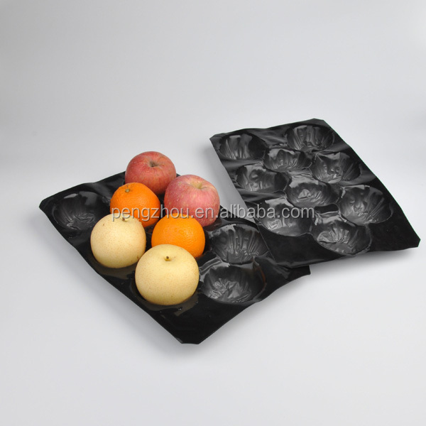 PP fruit Tray FDA Approved Custom Wholesale PP fruit packaging Apple Tray PP fruit Tray
