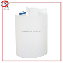 500l LLDPE empty round drum water tank cleaning chemical tank container