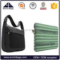 High quality laptop tablet shoulder bag with laptop sleeve bag