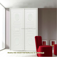2017 Modern Double door Sliding Door bedrooom wardrobes