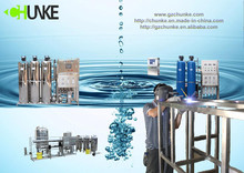 2T/H reverse osmosis system china for seawater desalting sachet water treatment machine