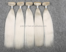 2015 New Color 100% Virgin Yak Hair,Very Pure White Color