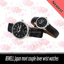 2015 Hot sale couple lover's ,vogue alloy watch ,high quality with japan movment for men and women