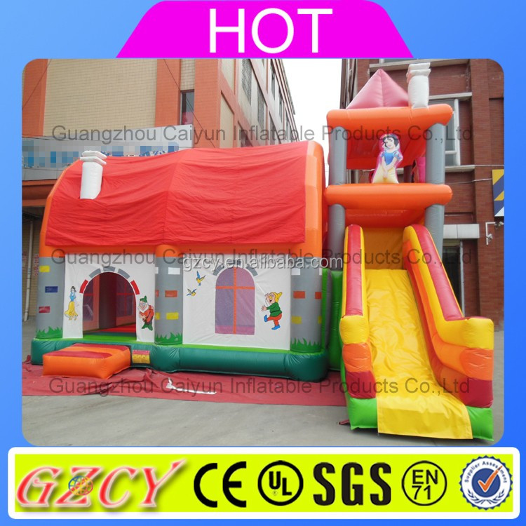 Hot Christmas inflatable bouncy castle/jumping castle slide/bounce house for sale