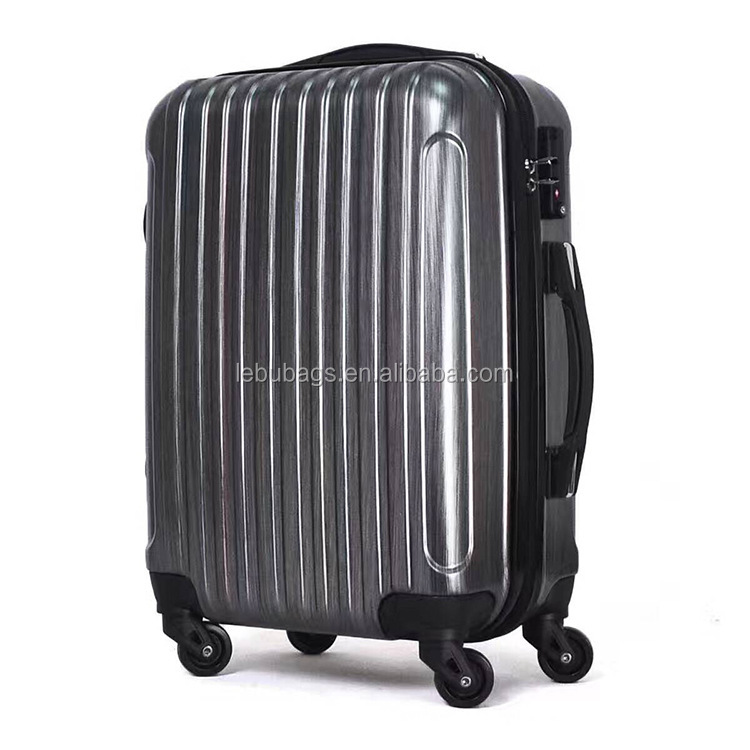 <strong>ABS</strong> PC Cheap price promotional and gift rolling suitcase luggage trolley bag