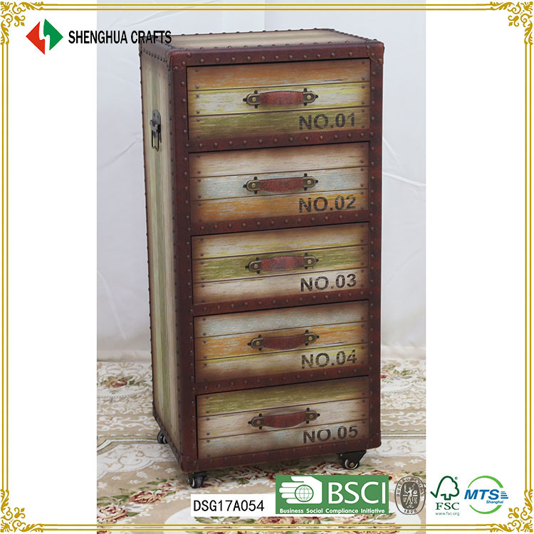 wholesale wooden custom drawer tool cabinet