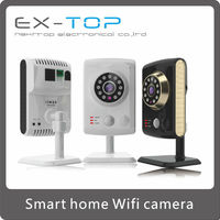 Mini home alarm systems, HD Smart home P2P WIFI IP Camera, Home Use IP baby Camera EX- I502